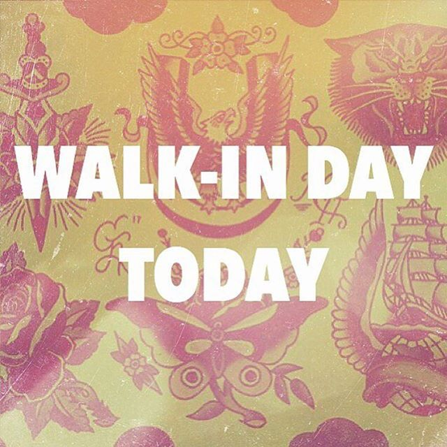 Today is your day. Walk-ins accepted all day! No wait! Open at 11am-7pm We also take walk-ins all week but we dedicate Saturdays to them. #dovernh #doversfinest #hiddenhistorytattoo
