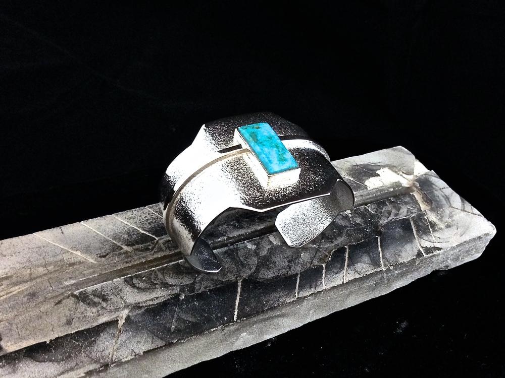 Sterling Silver & Kingman Turquoise
