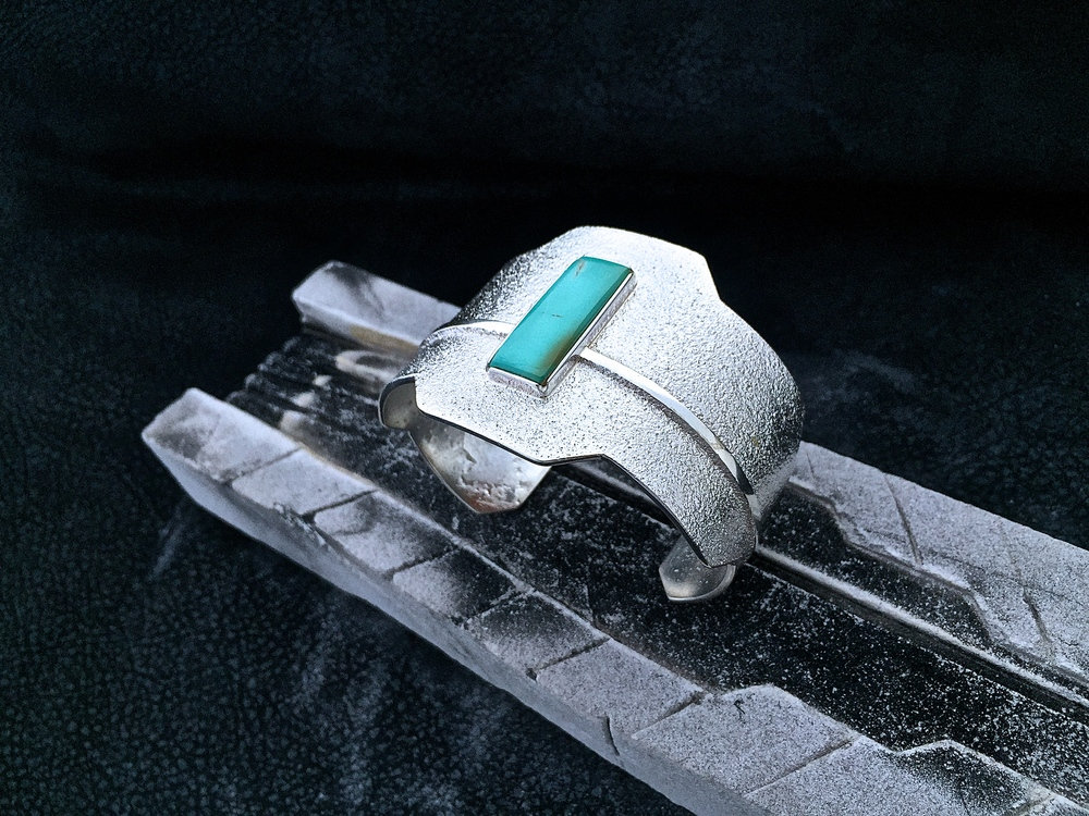 Sterling Silver & Royston Turquoise