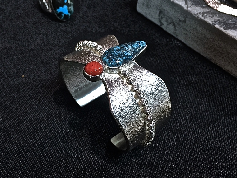 Red Coral & Kingman Turquoise