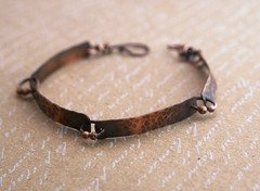 "The ""Copper Tile Bracelet"""