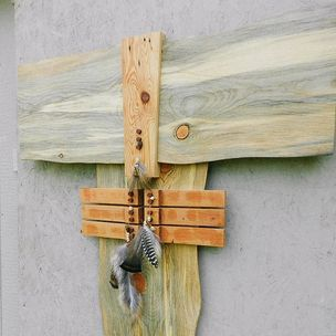 Wood wall art by Michael Osburn