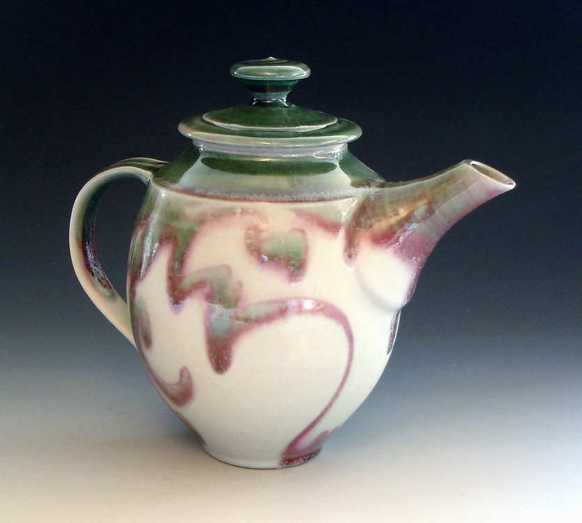 Teapot by Howard Hamsa of Freeland, WA