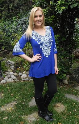 Tunic by Pure Intent of Whittier, CA
