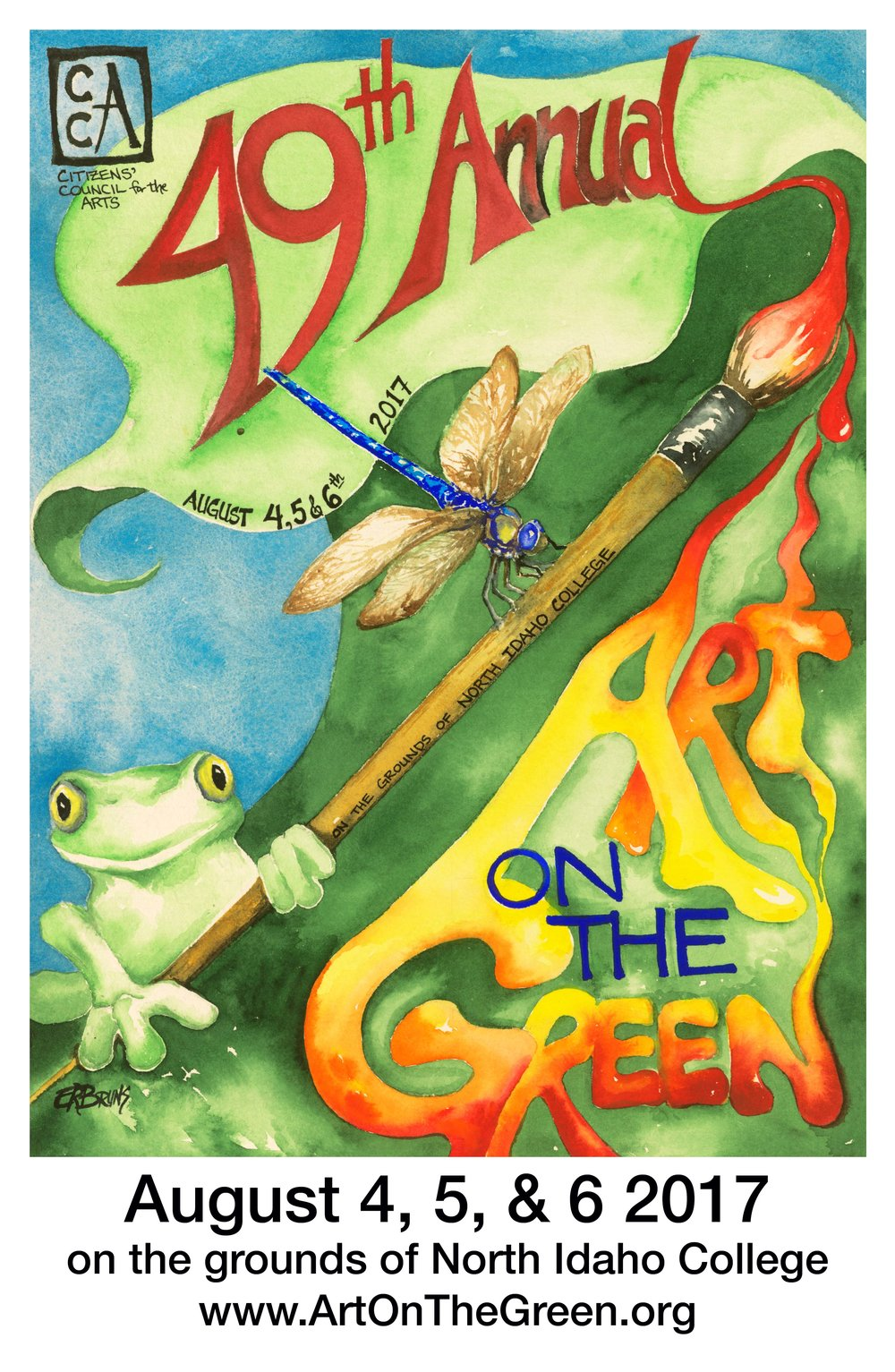 2017 Art on the Green Poster