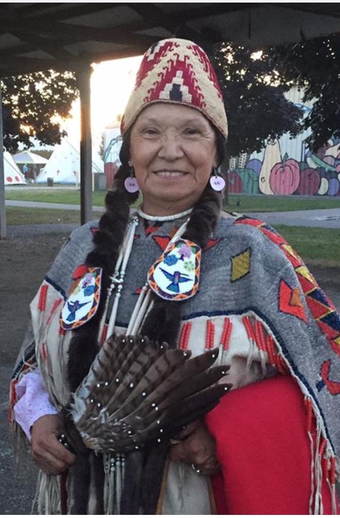 Norma Jean Louie, Coeur d'Alene Tribe