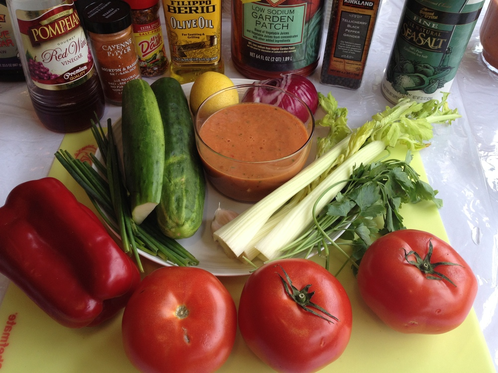 spice it up gazpacho soup full of lycopene and antioxidants.
