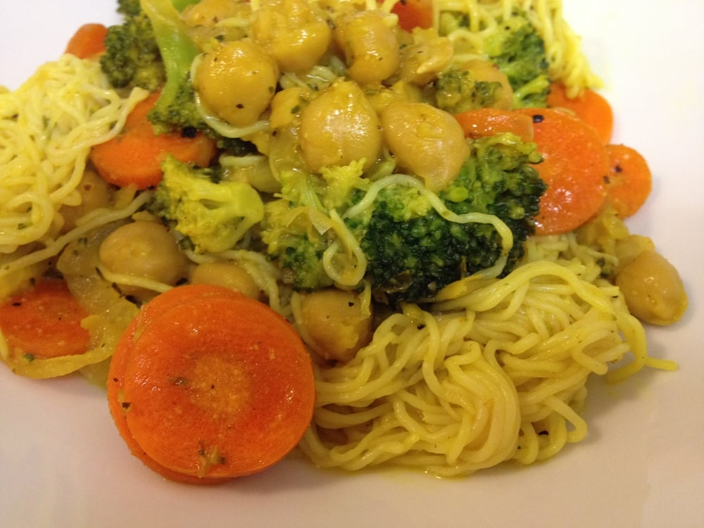 LIme Coconut Chickpeas From Eat More Plants
