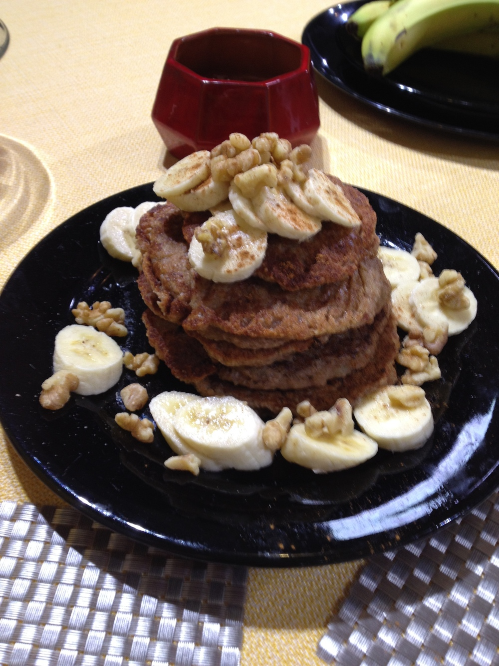 Banana Bliss Pancakesfrom Eat More Plants