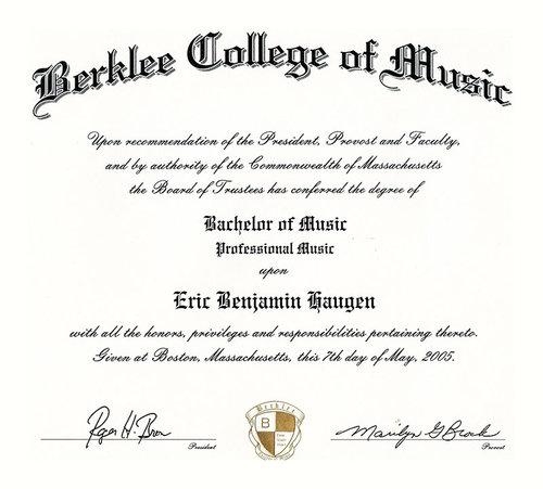 Education Eric Haugen