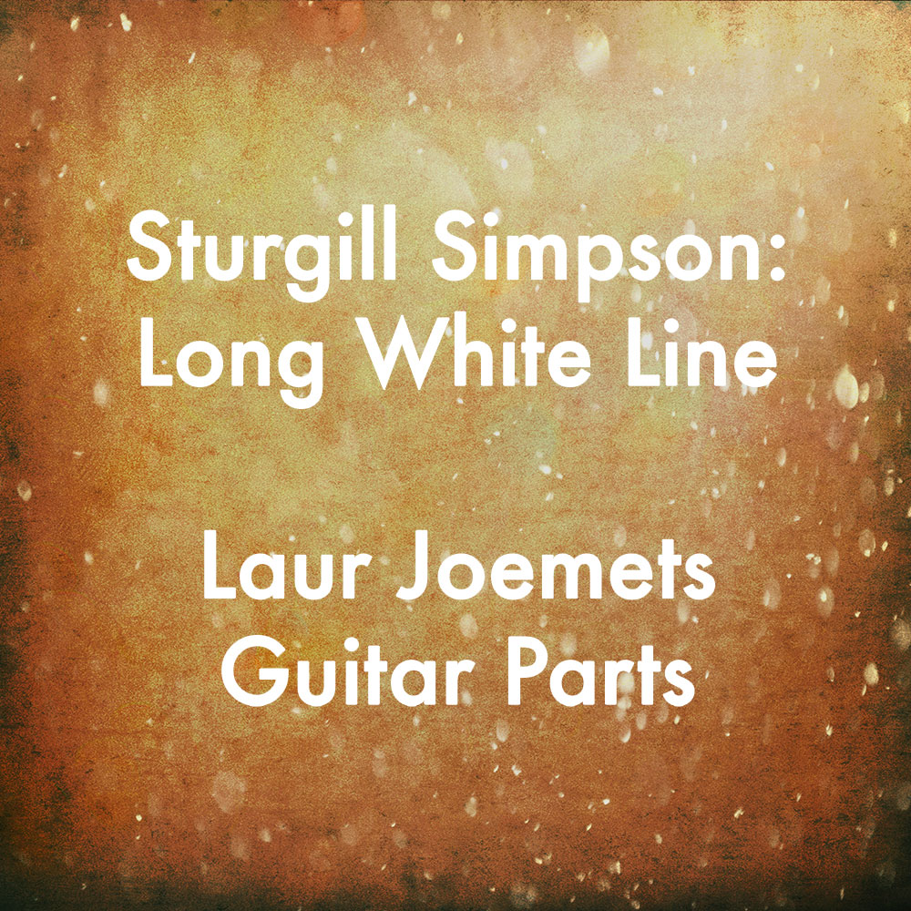 Long White Line Guitar Parts — Eric Haugen