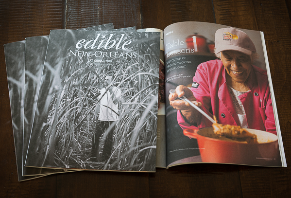 Edible New Orleans magazine winter 2014 issue