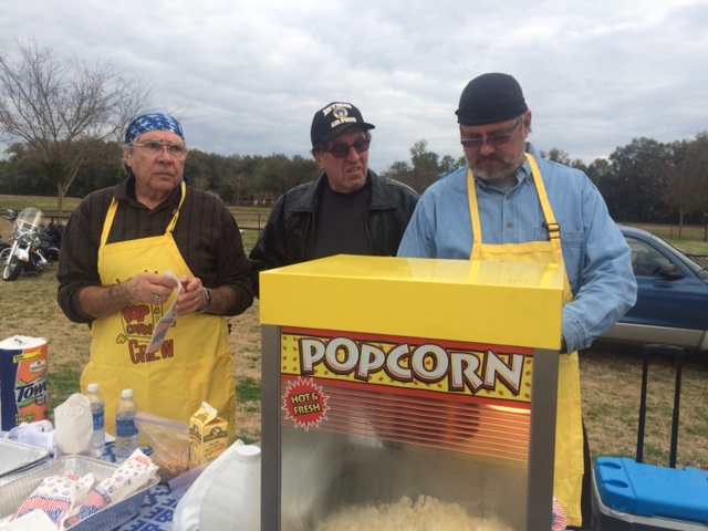 Motorcycle-Ministry-at-Motorcycle-Event-serving-popcorn