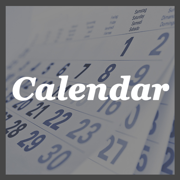 Calendar - Jump right in to see our ministry calendar.