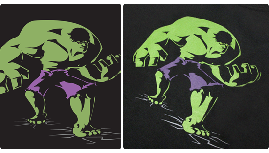 Hulk T-shirt Design - Made for 'The Incredible Hulk' (DS) game's team