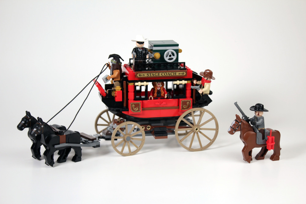 Stagecoach (2nd version): A LEGO® creation by Luis Baixinho ...