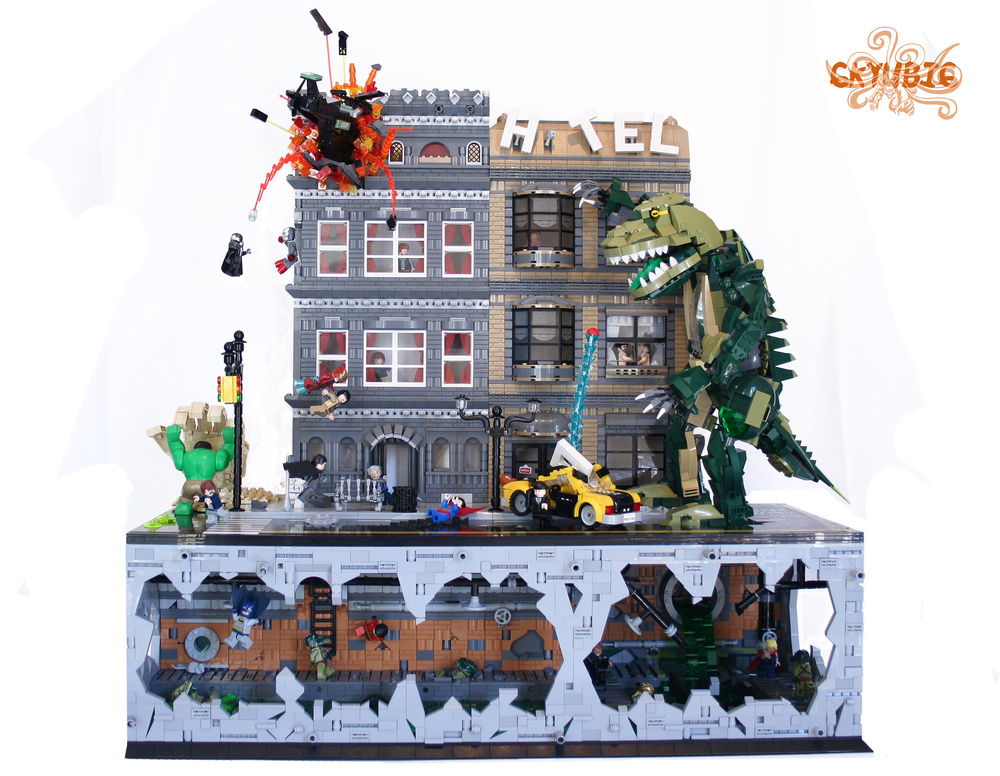 Lego Marvel Moc: Your Place For All Things