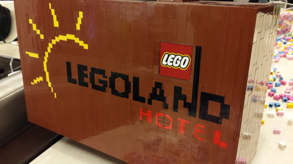 lego luggage?  yes please.