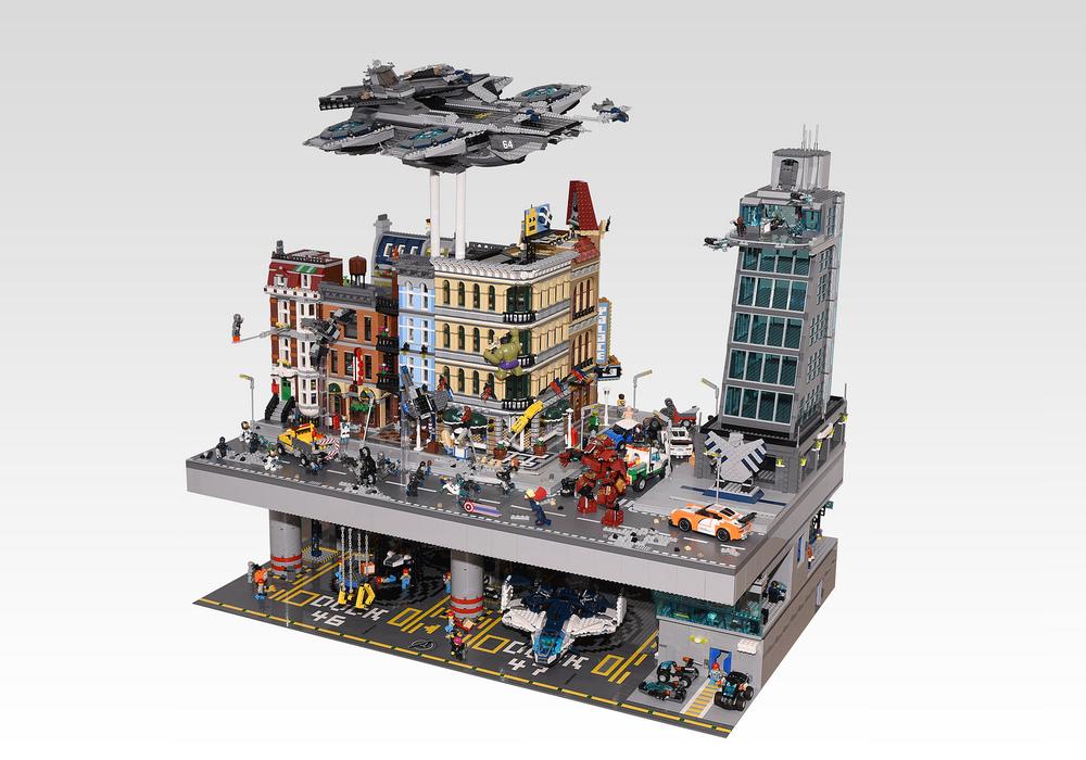 Lego Build Tower Ninjago