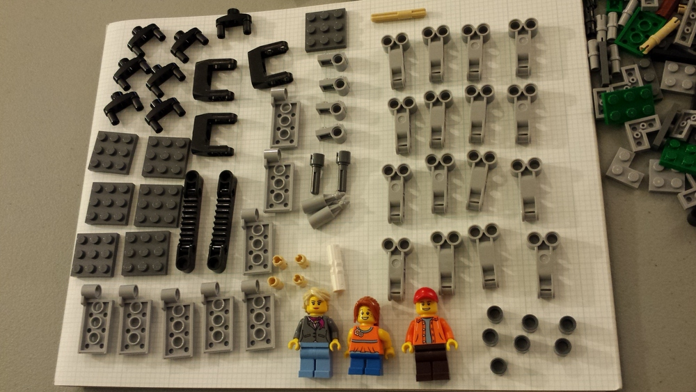 Hey -- some of this stuff will come in handy for making a... Lego ferris wheel. :-)