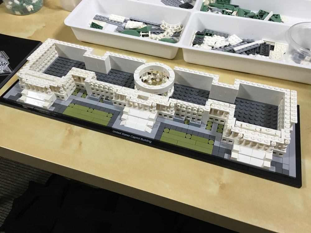 Review - LEGO Architecture United States Capitol Building ...