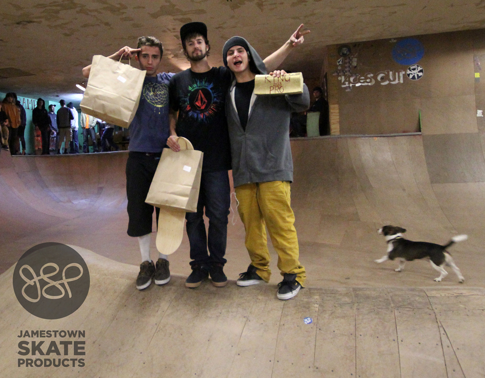 Carlos, John, and King of the Ramp; Mike Berdis