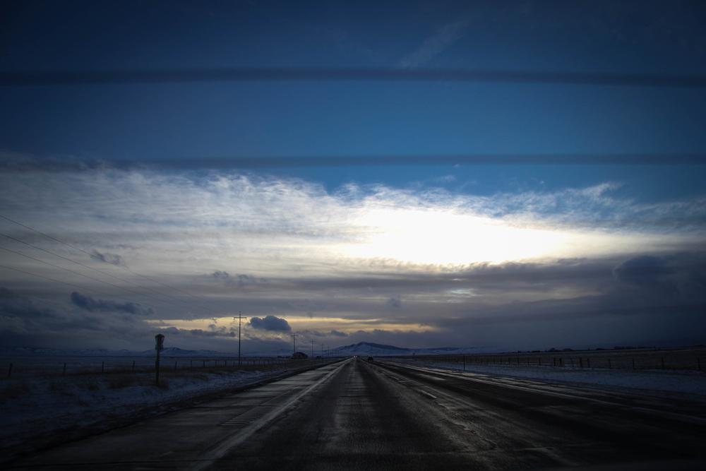 Leaving Wyoming
