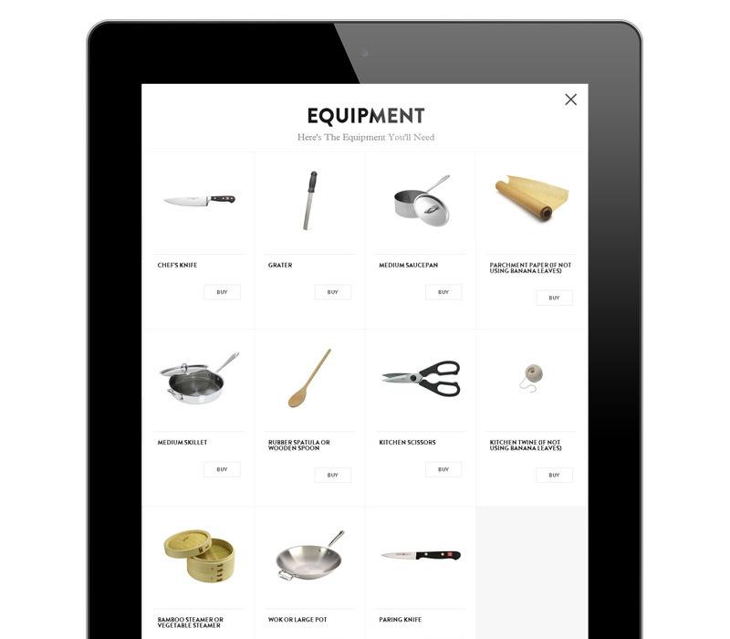 Visual Equipment Lists