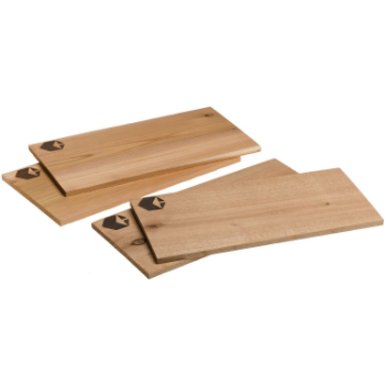Cedar & Alder Planks, $17  . Flavor your food with a natural, raw quality by roasting and grilling with wooden planks.