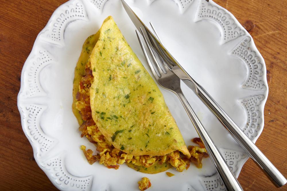 Moong Daal ka Chilla (Savory Lentil Crepes)