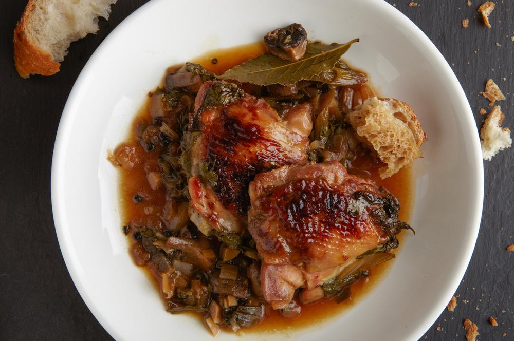 Pollo en Adobo