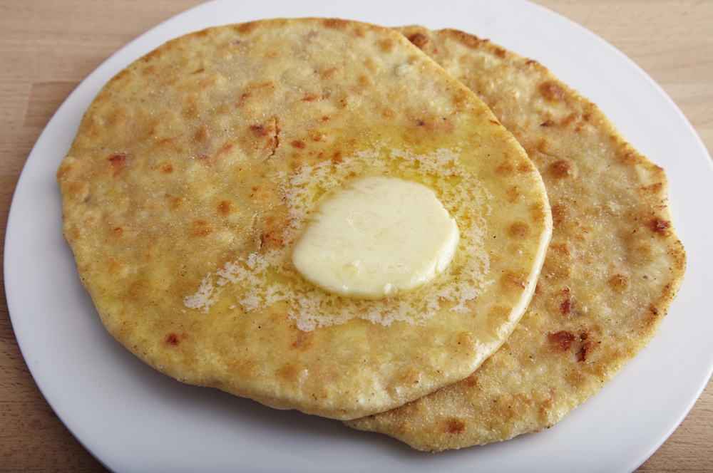 Tandoori Chicken Keema Paratha