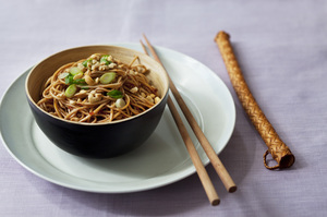 Naru Soba with Chili Vinaigrette