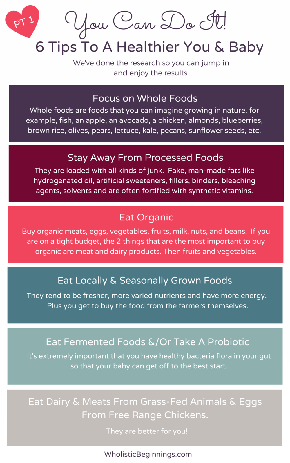 12 Tips To Eating Healthy During Pregnancy Holistically Loved