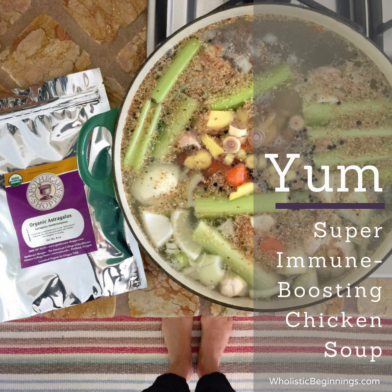 Super Immune-Boosting Chicken Soup