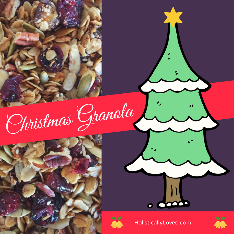 The Yummiest Christmas Granola Ever