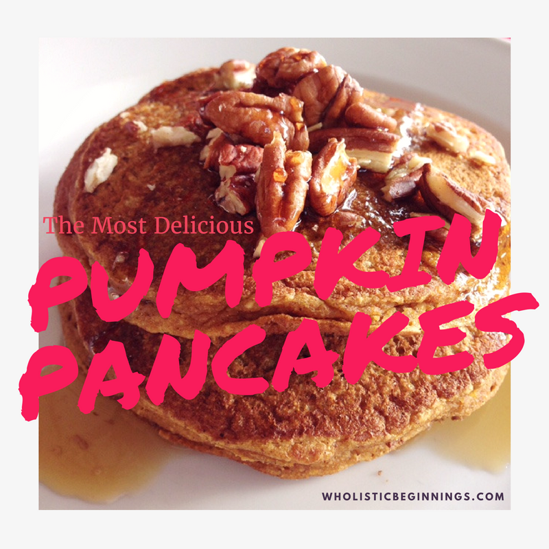 The Most Delicious Pumpkin Pancakes