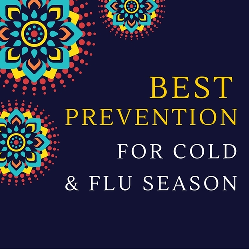 Best Prevention For Cold and Flu Season