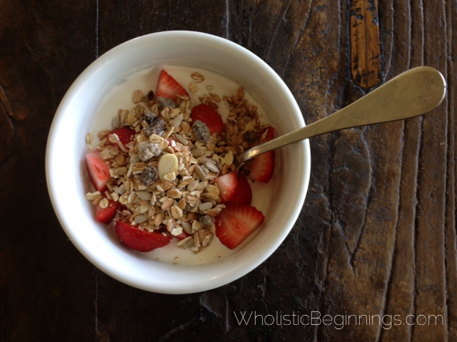 Fast & Easy Greek Yogurt Breakfast Bowl