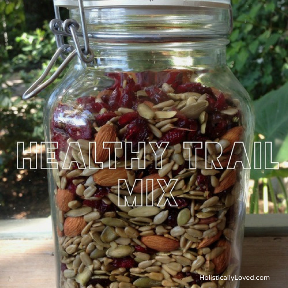 Quick-On-The Go, Delicious And Healthy Trail Mix