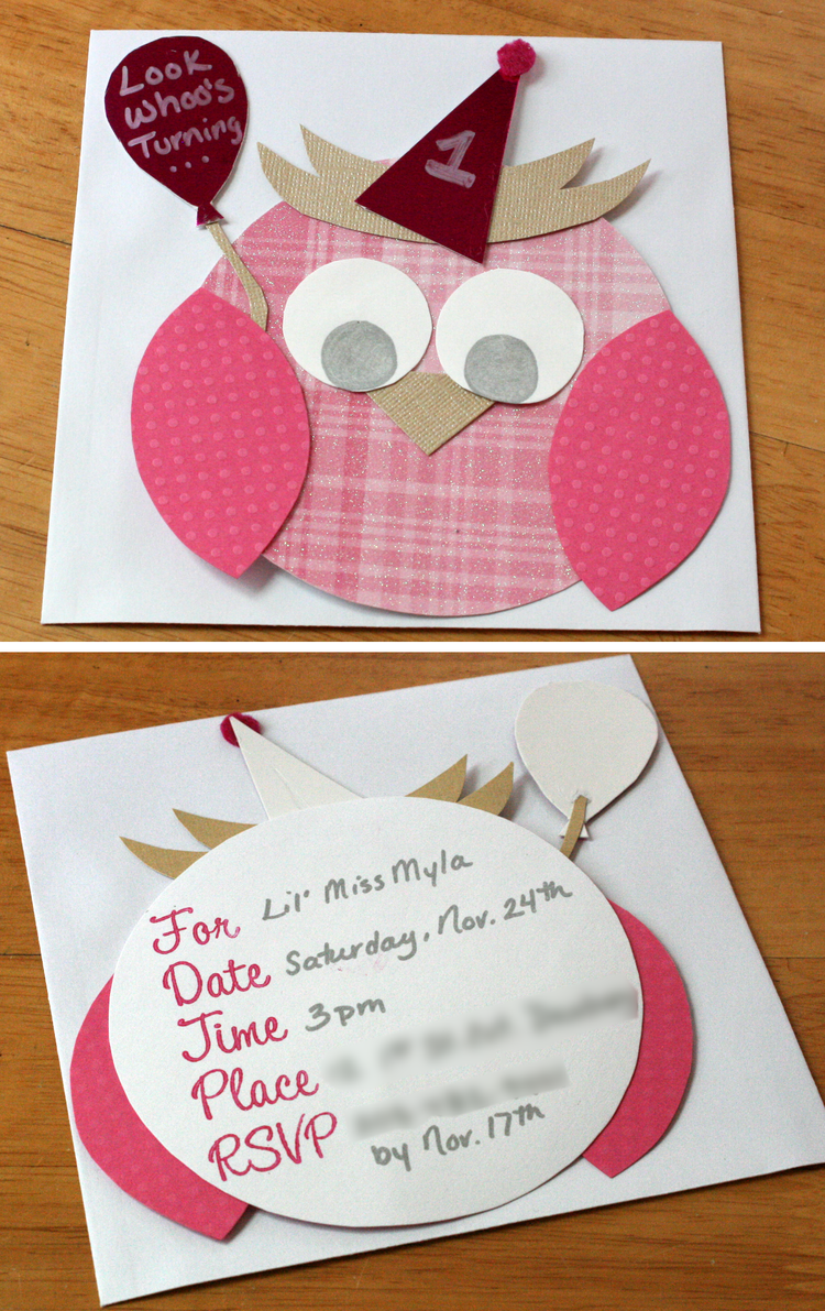 Look Whoo\'s Turning One (errr, Two) (Part 1 of 2) — A Mommy\'s ...