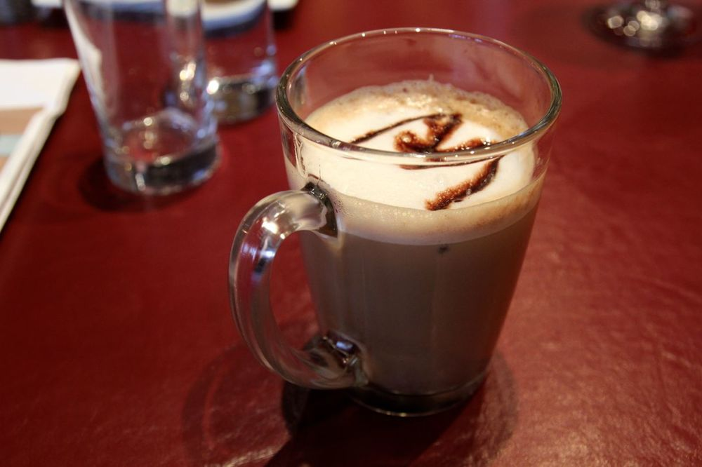 Nanaimo Bar Latte from Modern Cafe