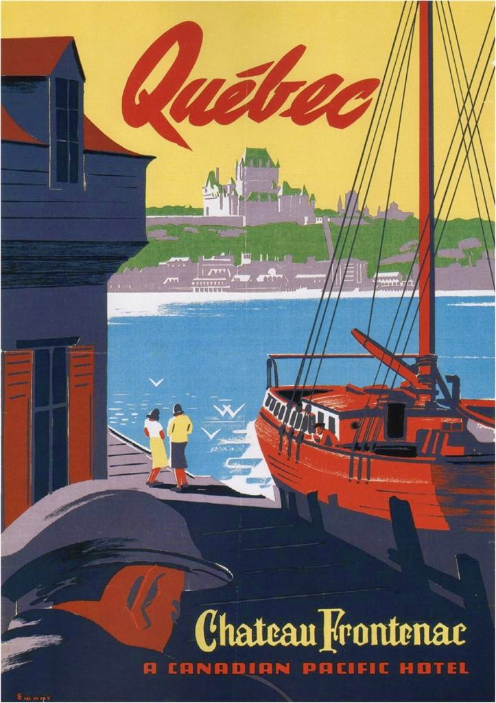 Québec.+Canadian+Pacific+Hotel+Canadian+Pacific+Across+Canada+poster+by+Peter+Maxwell+Ewart.jpg