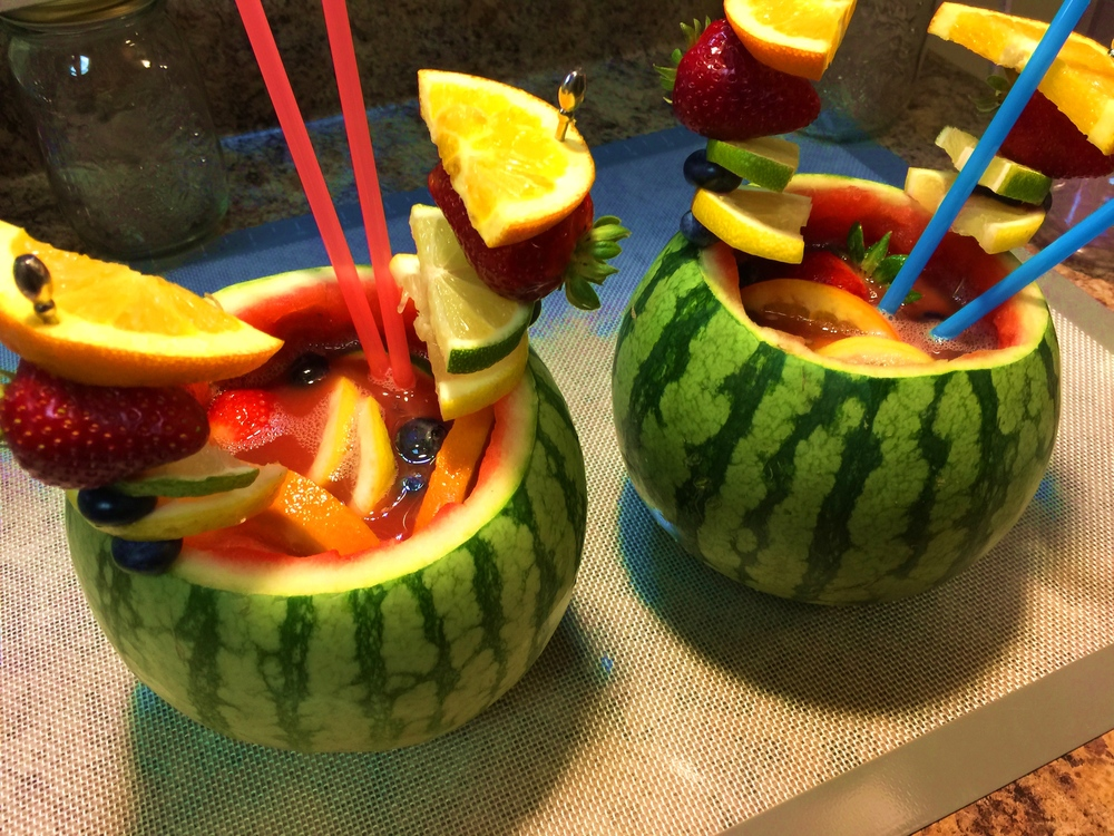 Vodka Watermelon Sangria