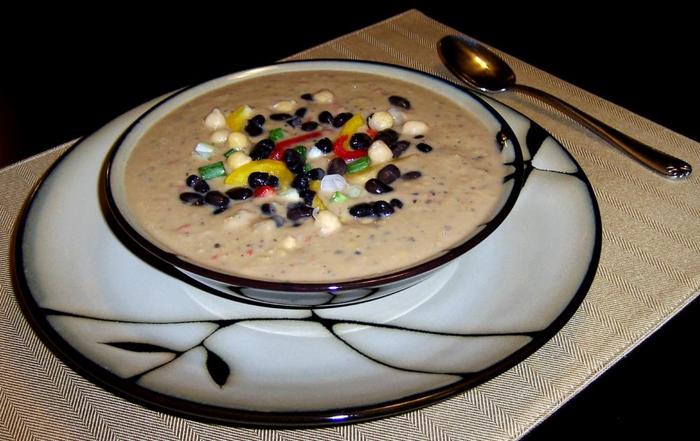 Black Bean Soup (Non-Dairy)