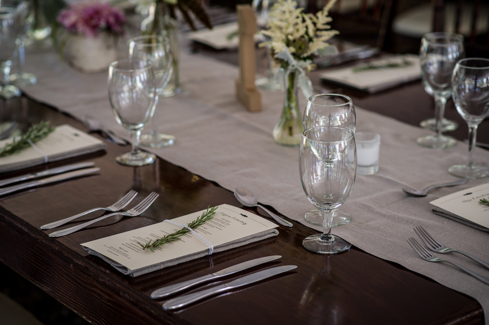 Photo Credit: Theilen Photography  Floral: Art in Bloom  Rentals: Crux Events & Camelot Party Rentals  Linen: LaTavola Linen