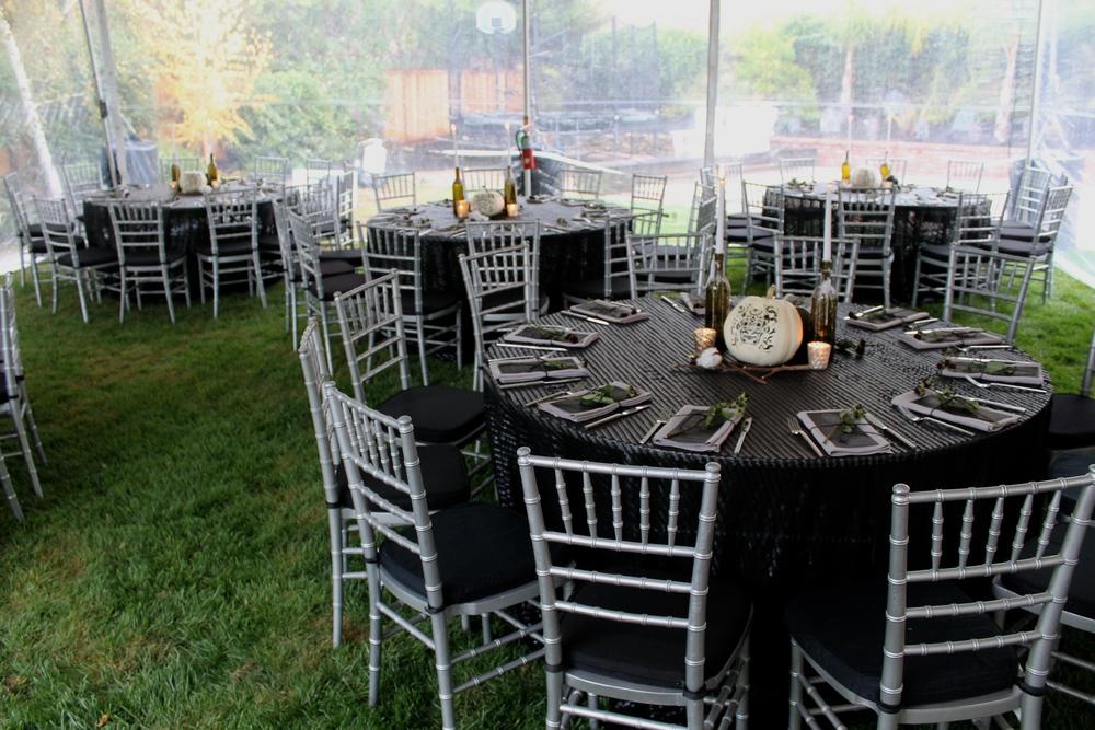 Tabletop Design & Creation: Hunter & Company  Linen: La Tavola Fine Linens  Tent & Event Rentals: The Stuart Rental Company