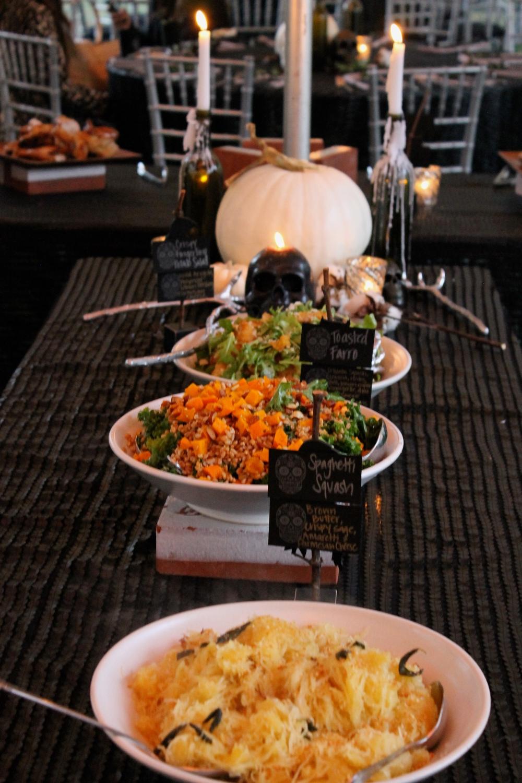 Tabletop Design & Creation: Hunter & Company  Catering: Smoke Open Fire Cooking  Linen: La Tavola Fine Linen