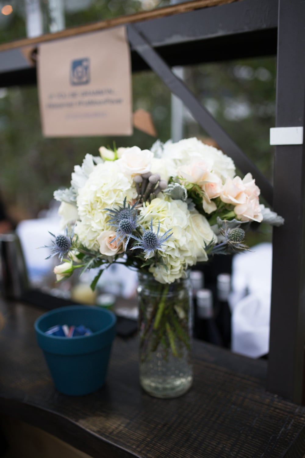 Photo |  Ciprian Photography   Floral |  Art In Bloorm   Venue |  West Shore Cafe