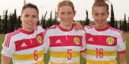 Jo Love, Leanne Ross, Nicola Docherty, image courtesy of SFA.